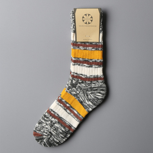 Nep Stripe Socks-002