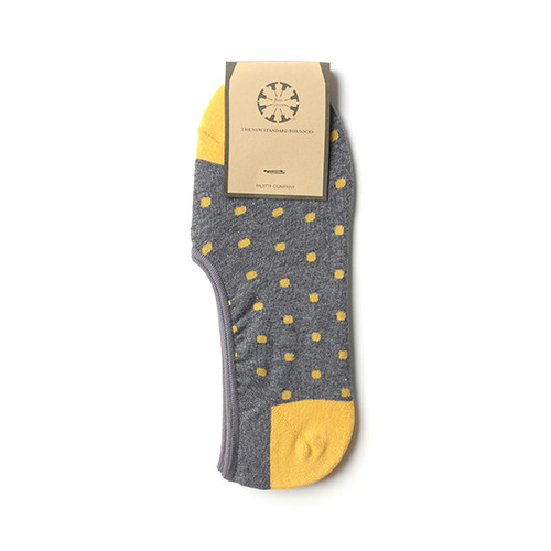 Dot invisible socks-001