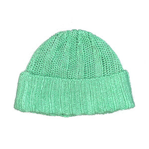 cotton 100% beanie : mint