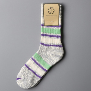 Nep Stripe Socks-004